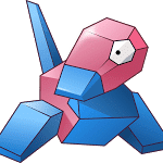 Porygon Vector By Umbravivens D616o4t