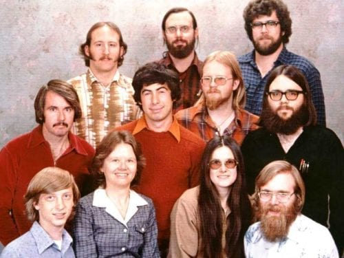 Where Are They Now What Happened To The People In Microsofts Iconic 1978 Company Photo 500x375