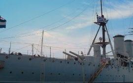 Θωρηκτό Αβέρωφ o θρύλος του Πολεμικού μας Ναυτικού.