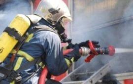 Δράμα: Φωτιά σε δύσβατη ορεινή περιοχή