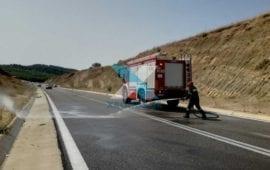Σοβαρά τραυματισμένος Βούλγαρος δικυκλιστής