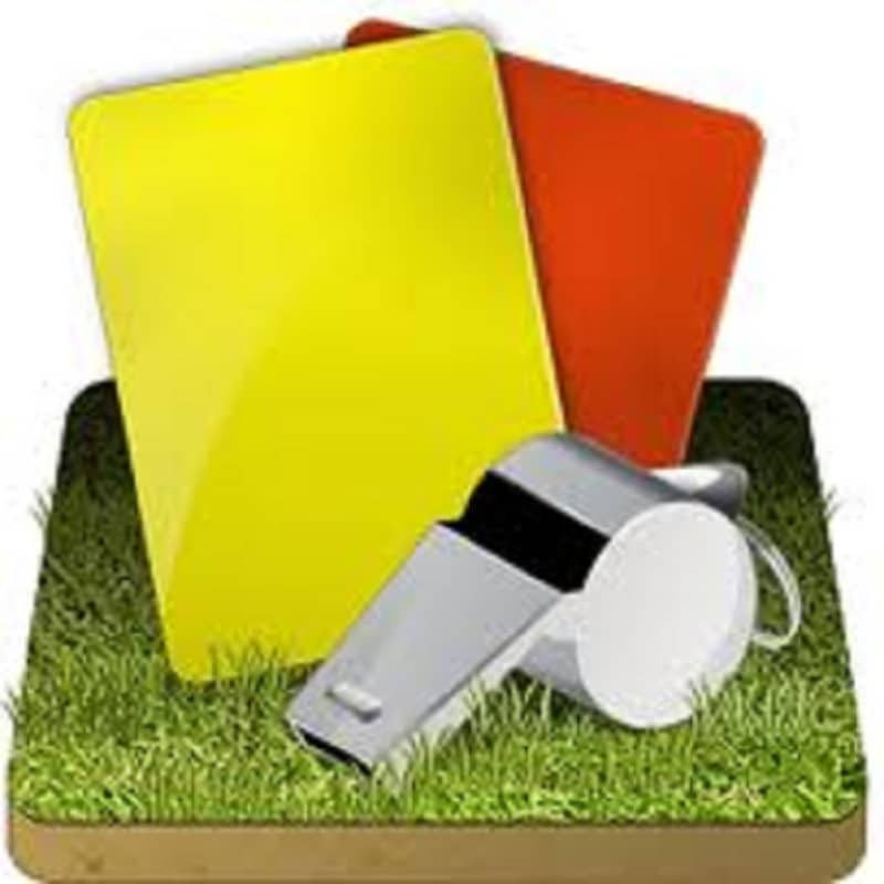 Red Yellow Cards Sfirixtra