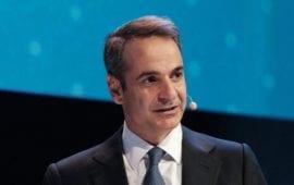 Παρουσίαση της νέας επένδυσης της Microsoft στην Ελλάδα από τον Πρωθυπουργό Κυριάκο Μητσοτάκη και τον Πρόεδρο της εταιρείας, Brad Smith