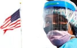 ΗΠΑ: Τρομακτικό ρεκόρ κρουσμάτων μόλυνσης από τον κορονοϊό σε 24 ώρες