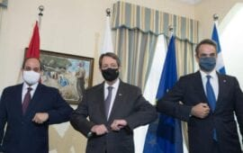 Τριμερής Ελλάδας Κύπρου Αιγύπτου- Κοινό μέτωπο στην τουρκική προκλητικότητα