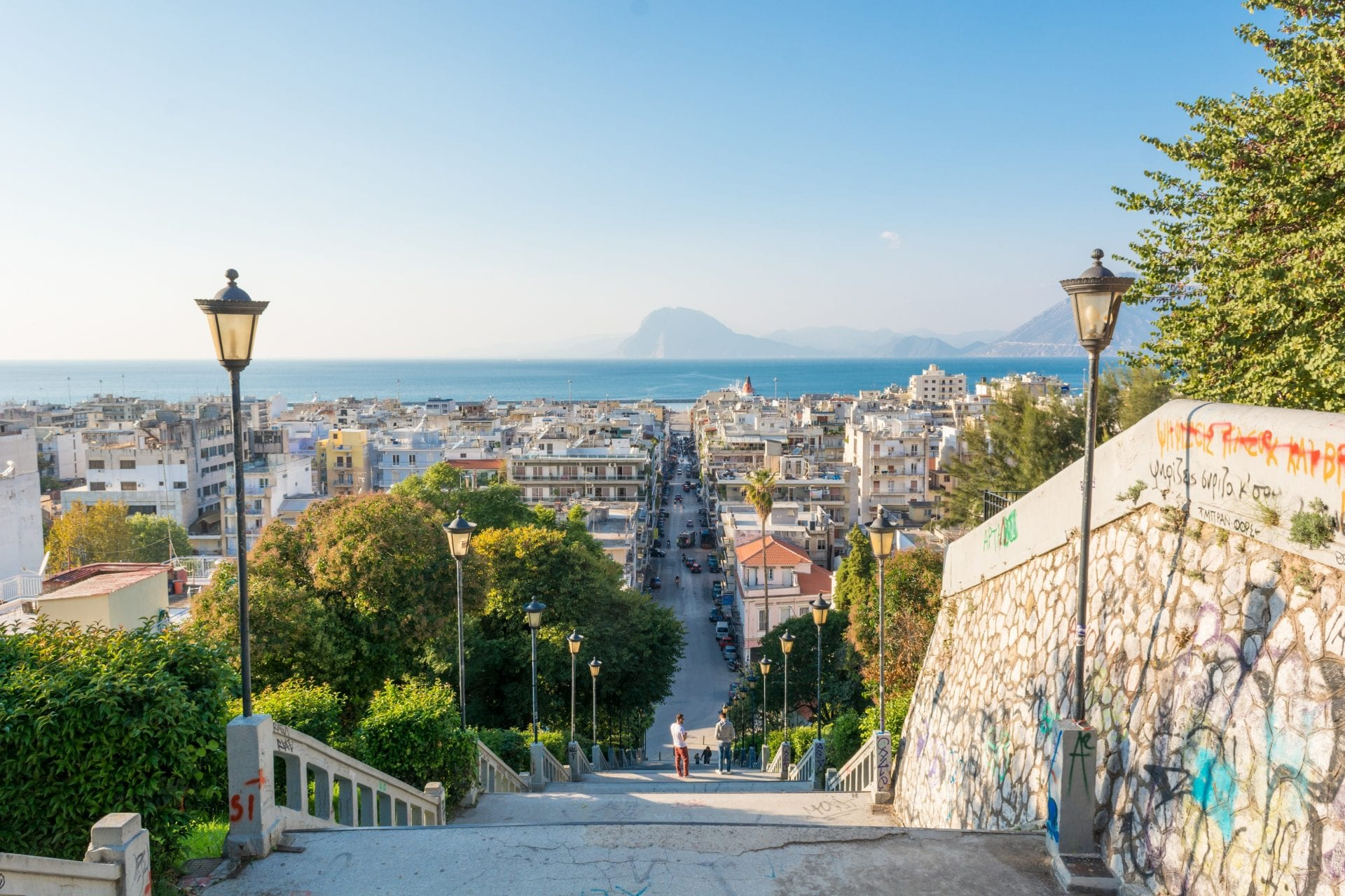 123RF 33722909 Xxl  View Of The City Centre Of Patras From Castle Hill 1 E1508838478186