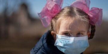 Coronavirus Children Mask 360x180
