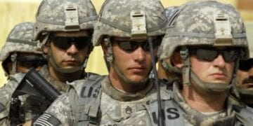 American Soldiers Cool Photo 360x180