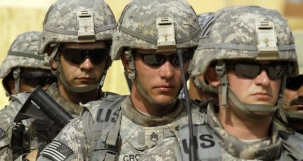 American Soldiers Cool Photo