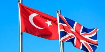 Turkey UK Flags 360x180