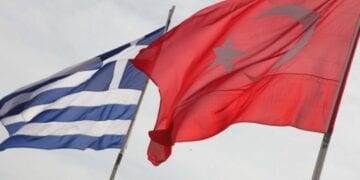 Turkey Greece Flags 2 360x180