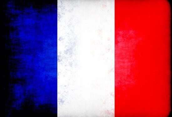 French Flag 550x375