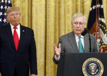 Mitch Mcconnell Donald Trump 350x250