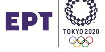 Composite Logo ERT TOKYO 2020 Horizontal Framed 3 360x180